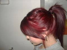 L'oreal excellence hicolor hilights in magenta on dark hair