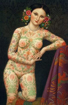 the bouquet of a tattooed lady | Colette Calascione