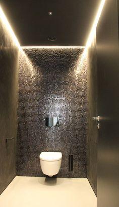 31 beautiful half bathroom ideas for your home 2 Bathroom Tile Designs, Bathroom Layout, Bathroom Interior Design, Bathroom Styling, Modern Bathroom, Small Bathroom, Bathroom Ideas, Ensuite Bathrooms, Bathroom Organization