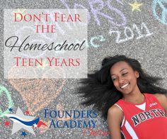 don't fear the homeschool teen years