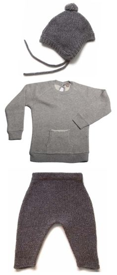 Style Baby Boy - cozy knits and textures
