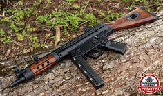My favorite fake gun, hope to modify mine like this one with a wood stock and hand guard.