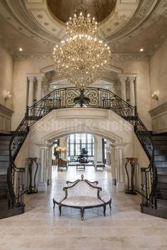 Luxury Homes Mansions & High End imóveis . Mansion Interior, Dream House Interior, Luxury Homes Dream Houses, Luxury Interior, Home Interior Design, Dream Homes, Mansion Homes, Architecture Design, Residential Architecture