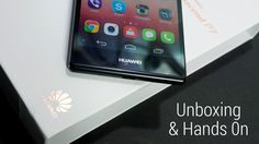 Huawei Ascend P7 - Unboxing & Hands On