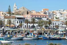 Vista da marina de Lagos, região do Algarve, Portugal - Foto: Reprodução
