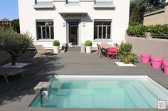 Une petite piscine de moins de 10 m² qui permet d'éviter les démarches administratives