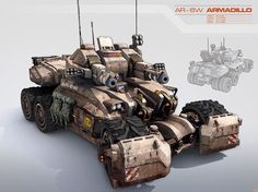 TANKS concept art - Google 搜索