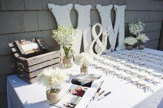 escort card table....inspiration