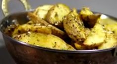 POTATO WEDGES RECIPE: If you have unexpected guests at home, roasted potato wedges will save the day for you. READ: http://indianexpress.com/article/lifestyle/food-wine/instant-snack-how-to-make-potato-wedges/