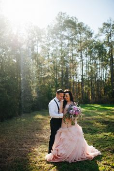 Savannah Weddings - Sequins + Peony - Pink Vera Wang Gown - Peony Bouquet - Rach Lea Photography - Ivory & Beau - Hilton Head Weddings