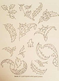 Leaf drawings in various sizes - # Pattern Drawing, Pattern Art, Art Sketches, Art Drawings, Vine Tattoos, Persian Motifs, Islamic Patterns, Arabic Pattern, Leaf Drawing