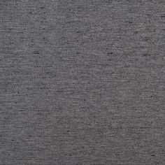 Black/Heathered Gray Reversible Stretch Ponte Knit Fabric by the Yard   Mood Fabrics