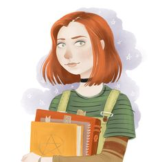 Willow Rosenberg by Laura Trinder. (Character originally created by Joss Whedon for Buffy the Vampire Slayer)