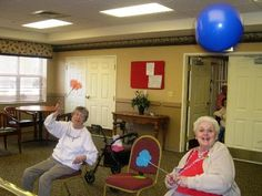 """Games People Play"" - Activities for Older Adults"