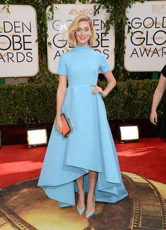 Caitlin Fitzgerald in Emilia Wickstead | 2014 Golden Globe Awards