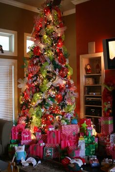 Whimsical Christmas Tree by Kristy Scharenbroch