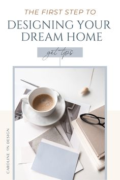 Are you excited to build your dream home but you're also terrified that you'll make design decisions that you might later regret? Good news … I'm sharing the crucial first step to designing your dream home. Click through for the tips!