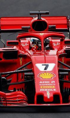 ------- Kimi driving the Ferrari -------- Ferrari Racing, Ferrari F1, F1 Racing, Grand Prix, Formula 1, Gp F1, Monaco, Michael Schumacher, Karting
