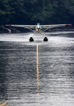 - Land in a sea plane Bush Plane, Float Plane, Private Plane, Flying Boat, Its A Mans World, Adventure, Sea Planes, Airports, Wings
