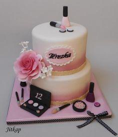Kosmetika pro Terezku - Cake by Jitkap