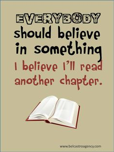 I believe. In books.