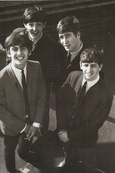 One word that describes the early Beatles: cute.