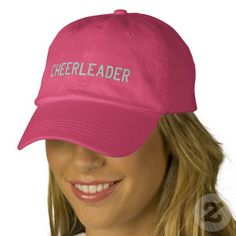 CHEERLEADER Hat  .Promote LYKENS-LUZESKY for CASH!