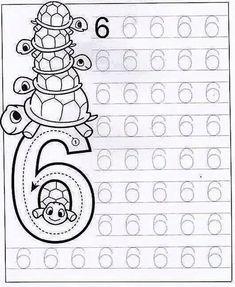 New System-Suitable Numbers Line Study - Preschool Children Akctivitiys Preschool Writing, Numbers Preschool, Math Numbers, Preschool Printables, Preschool Lessons, Preschool Learning, Kindergarten Worksheets, Preschool Activities, Math For Kids