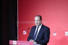 Paris : Réélection de Jean-Christophe Cambadélis à la tête du PS - Politique - via Citizenside France. Copyright : Christophe BONNET - Agence73Bis