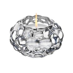 Raspberry Candle Holder by Swedish designer Anne Nilsson is a beloved classic from Orrefors. The soft shapes of a raspberry creates a warm glow. Votive Candle Holders, Votive Candles, Unique Candles, Glass Votive, Vanitas, Grands Vases, Swarovski, Shops, Burning Candle
