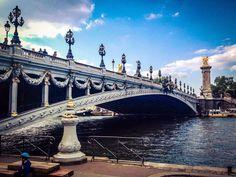 Puente Alejandro III (Paris - France)