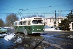 Anyone that lived on the North & Northwest sides of Chicago remembers these trolley buses. They were a part of the CTA until 1973.