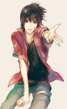 >_< so hot sasuke