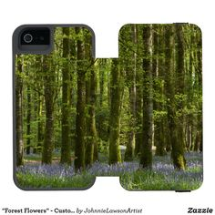 'Protect Our Future' - Customizable iPhone Wallet Case Wonderful Images, Beautiful Images, Forest Flowers, 5s Cases, Iphone Se, Create Your Own, Wallet, Future, Design