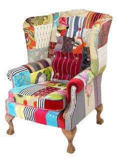 Attrayant London Patchwork Chair U2013 Made To Order