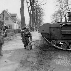 17th Airborne Division Operation Varsity March 1945 Germany