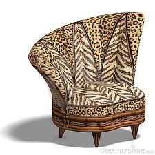 Comfy Chair With African Design Stock Illustration - Illustration of modest, location: 9859360 African Interior, African Home Decor, Funky Furniture, Unique Furniture, Home Design, Animal Print Furniture, Ethno Style, Ethnic Decor, African Design