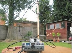 Magnetic Loop Antenna for 7MHz made from Coaxial Cable  | Radioaficion Ham Radio