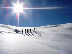 Hiking with #snowshoes in #turkey, did you know they had so much snow? Experience it yourself on our snowtrips!