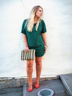 Green mood | The Blondie Diary