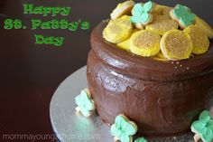 How To Make a Pot of Gold Cake