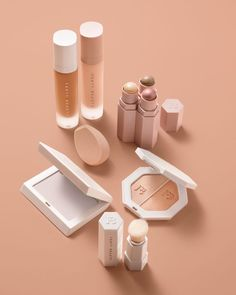 """104k Likes, 711 Comments - FENTY BEAUTY BY RIHANNA (@fentybeauty) on Instagram: """"Essentials for the perfect #FENTYFACE. Comment below if you've picked them all up!…"""""""