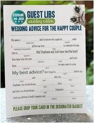 Ask your guests for wedding advice