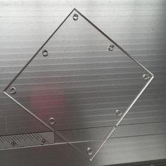 Acrylic laser cutting #lasercutting #acrylic #perspex by global372