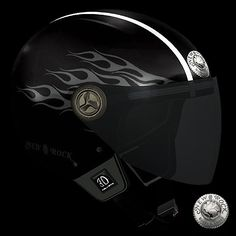 Casque de Moto New Rock (HELMET3D-S23)