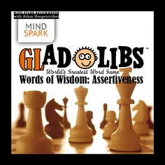 """""""A _____ man is motivated by the desire to _____, not by the desire to beat others."""" -Ayn Rand #mindspark #gladlibs"""