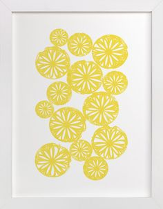 Sliced Citrus by Kristie Kern at minted.com