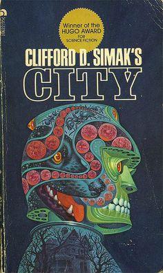 Davis Meltzer cover art for Clifford D. Simak's 'City'