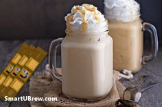 Even if you are not a great fan of drinking coffee, why not try these exciting Revital U Coffee recipes, created by fellow members, for delicious drinks and snacks! For a quick refreshing morning drink just add a scoop to a glass of fresh orange juice for Starbucks Drinks, Coffee Drinks, Drinking Coffee, Starbucks Coffee, Iced Coffee, Coffee Mugs, Copycat Starbucks Caramel Frappuccino Recipe, Low Carb Drinks, Deserts