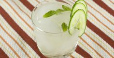 Rickshaw Cocktail Recipe - Gin and fresh basil syrup mixed with fresh lime juice make one of the most refreshing cocktails I've ever had! So Refreshing!